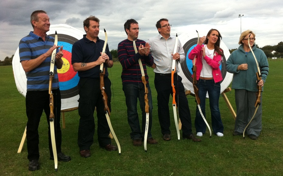 Corporate-Team-Building-Archery-Event