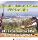Majstrovstvá Slovenska vo Varíne – tituly putujú aj k nám