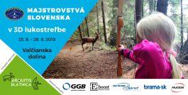 POZVÁNKA na Majstrovstvá Slovenska 3D 2018